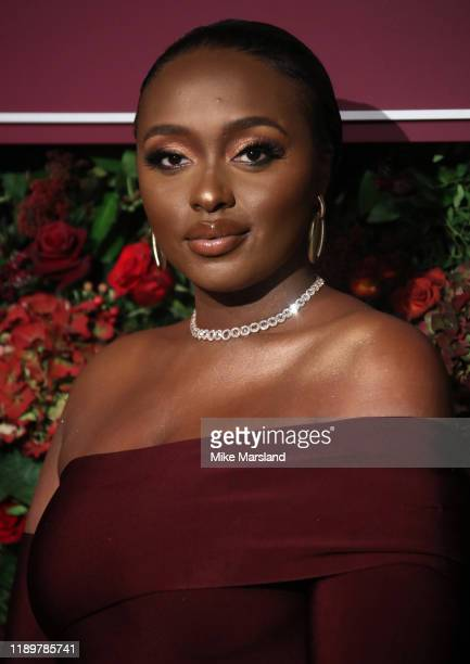 Yasmin Joseph attends the 65th Evening Standard Theatre Awards at the London Coliseum on November 24 2019 in London England
