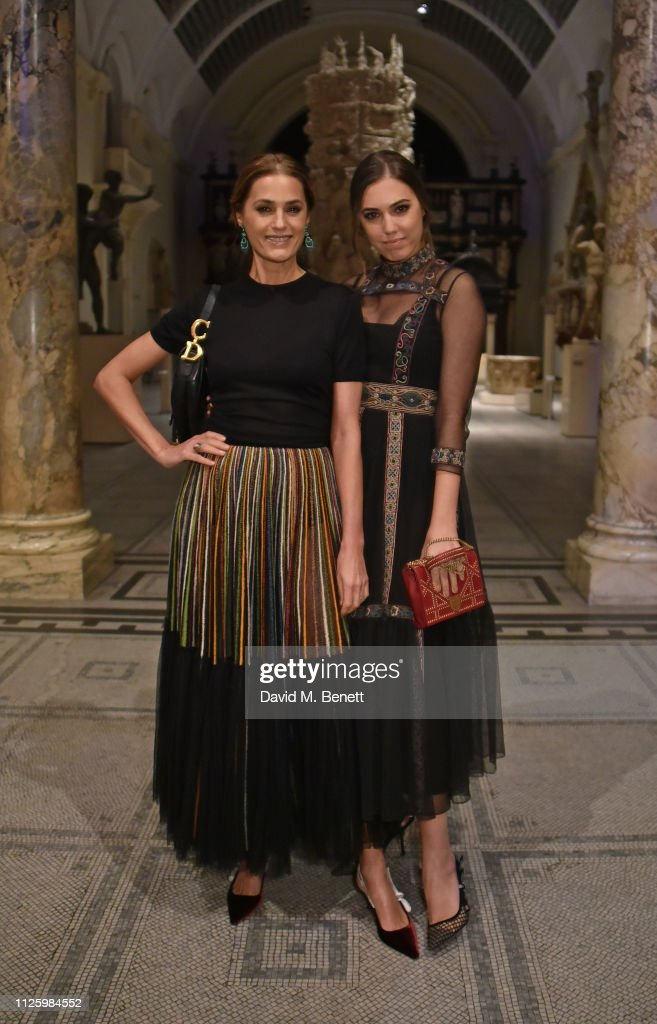 """""""Christian Dior: Designer of Dreams"""" Exhibition At The V&A - Opening Gala Dinner : News Photo"""