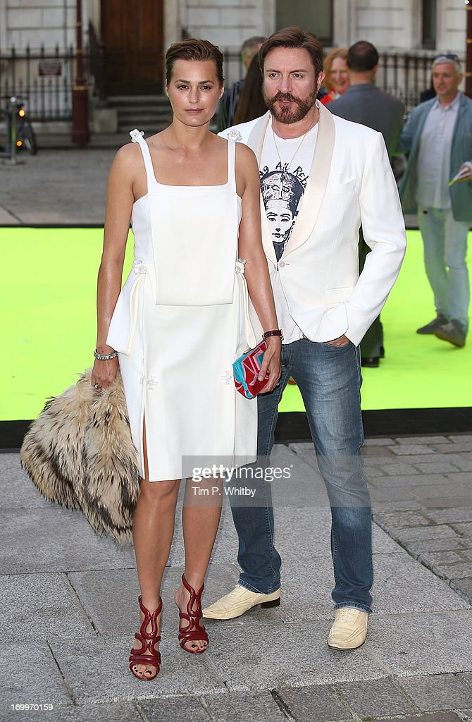 Yasmin Le Bon and Simon Le Bon attend the preview party for The Royal Academy Of Arts Summer Exhibition 2013 at Royal Academy of Arts on June 5, 2013 in London, England.