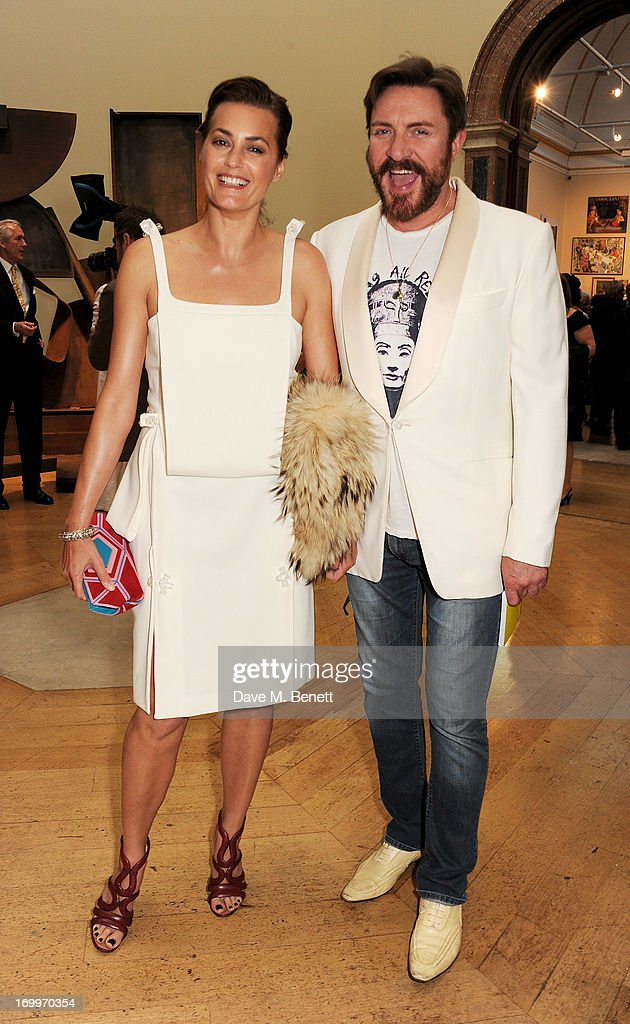 Yasmin Le Bon (L) and Simon Le Bon attend the preview party for The Royal Academy Of Arts Summer Exhibition 2013 at Royal Academy of Arts on June 5, 2013 in London, England.