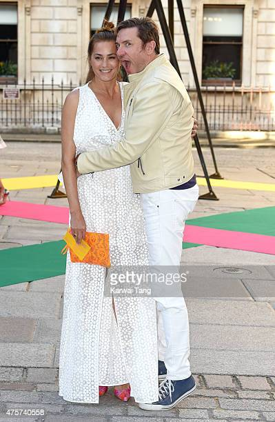 Yasmin Le Bon and Simon Le Bon attend the Royal Academy of Arts Summer Exhibition at the Royal Academy on June 3 2015 in London England