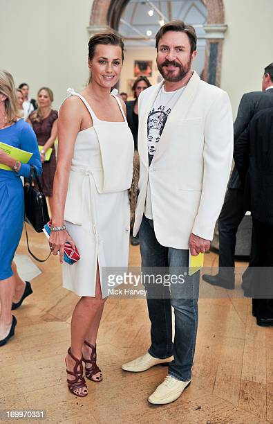 Yasmin Le Bon and Simon Le Bon attends the preview party for The Royal Academy Of Arts Summer Exhibition 2013 at Royal Academy of Arts on June 5 2013...