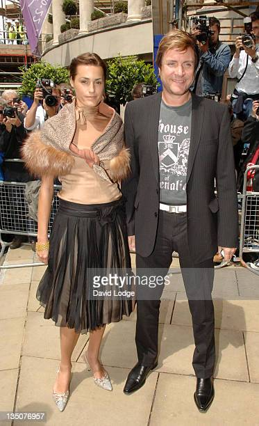 Yasmin Le Bon and Simon Le Bon during The 50th Ivor Novello Awards Arrivals at Grosvenor House Hotel in London Great Britain