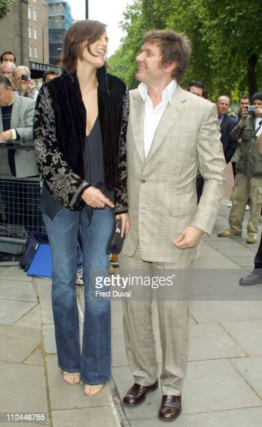 Yasmin Le Bon and Simon Le Bon of Duran Duran during 2003 Ivor Novello Awards May 22 2003 at Grosvenor House Hotel in London United Kingdom