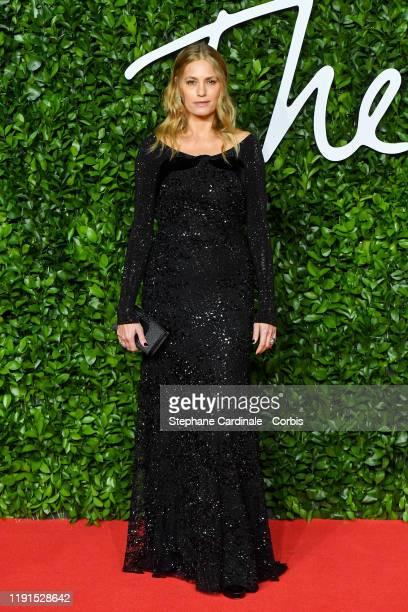 Yasmin Le Bon arrives at The Fashion Awards 2019 held at Royal Albert Hall on December 02 2019 in London England