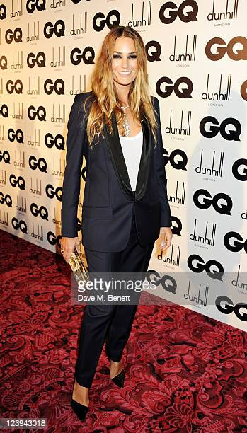 Yasmin Le Bon arrives at the GQ Men Of The Year Awards 2011 at The Royal Opera House on September 6 2011 in London England