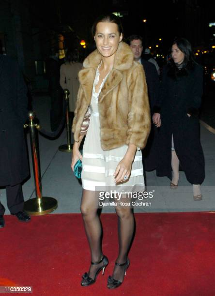 Yasmin Le Bon attends 2007 Cipriani Wall Street Concert Series Presents Annie Lennox at Cipriani Wall Street on November 5th 2007 in New York City...