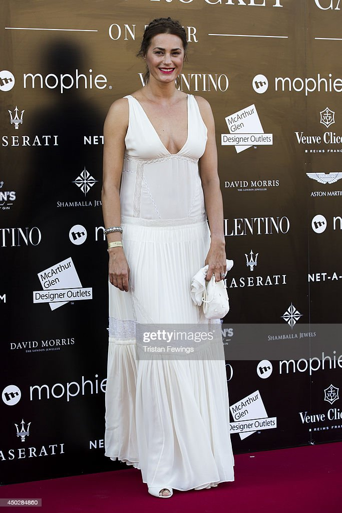 Yasmin Le Bon attends a gala dinner and auction to celebate the end of the Cash & Rocket tour at Natural History Museum on June 8, 2014 in London, England.