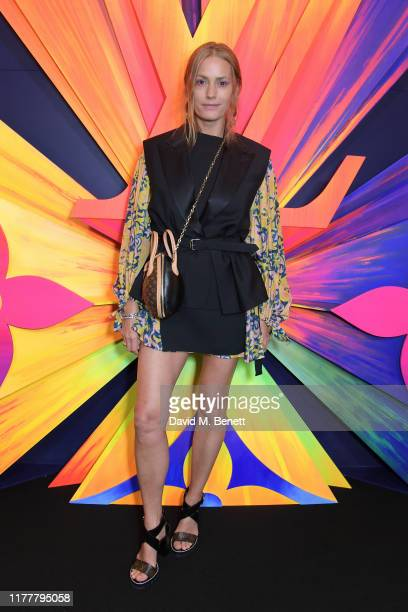 Yasmin Le Bon attends an after party celebrating the reopening of the Louis Vuitton New Bond Street Maison at Annabel's on October 23 2019 in London...