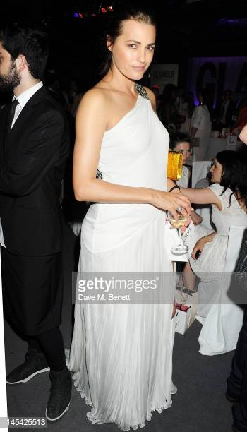 Yasmin Le Bon attends an after party following the Glamour Women of the Year Awards in association with Pandora at Berkeley Square Gardens on May 29...