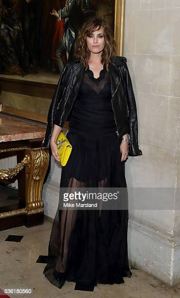 Yasmin Le Bon attends as Christian Dior showcases its spring summer 2017 cruise collection at Blenheim Palace on May 31 2016 in Woodstock England