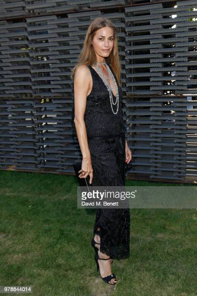 Yasmin Le Bon attends the annual summer party in partnership with Chanel at The Serpentine Pavilion on June 19 2018 in London England