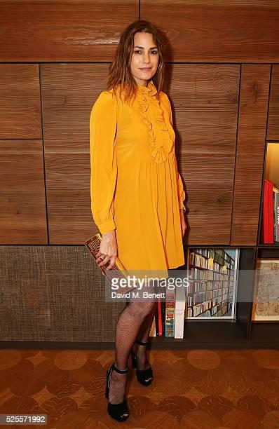 Yasmin Le Bon attends the BFC Fashion Trust x Farfetch cocktail reception on April 28, 2016 in London, England.