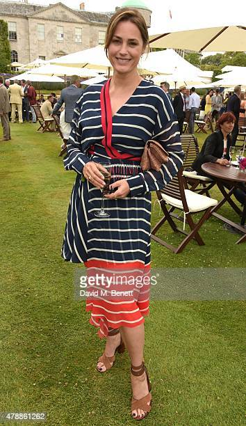 Yasmin Le Bon attends the Carter Style Luxury Lunch at the Goodwood Festival of Speed on June 28 2015 in Chichester England