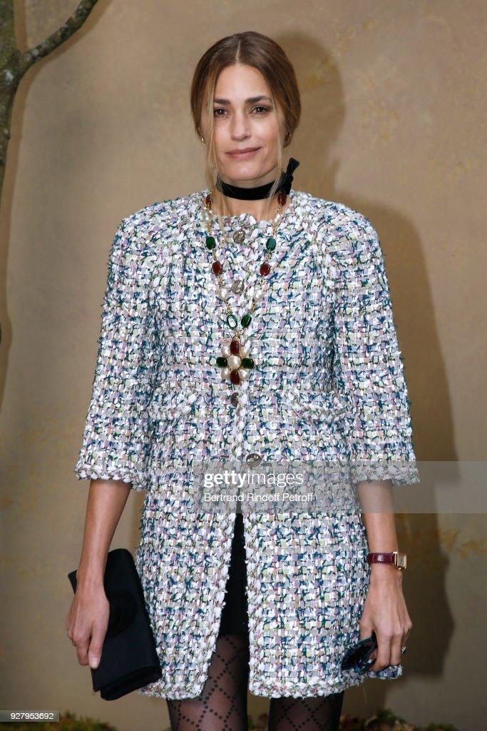Chanel : Front Row - Paris Fashion Week Womenswear Fall/Winter 2018/2019 : News Photo