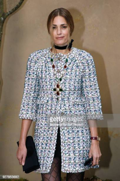 Yasmin Le Bon attends the Chanel show as part of the Paris Fashion Week Womenswear Fall/Winter 2018/2019 on March 6 2018 in Paris France