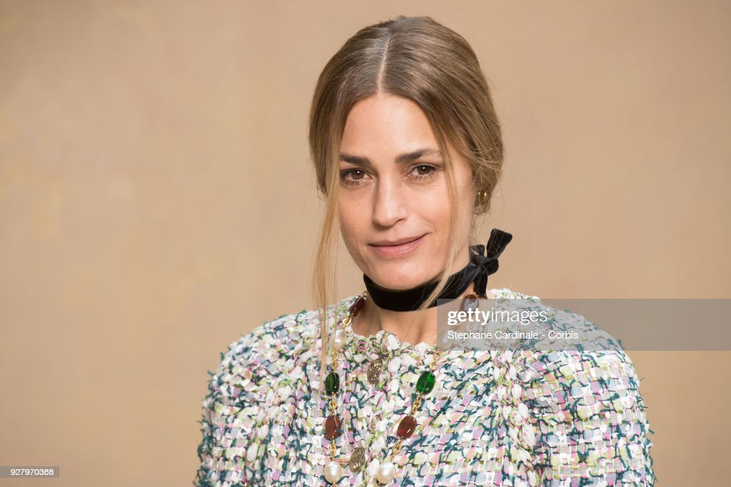 Chanel : Front Row - Paris Fashion Week Womenswear Fall/Winter 2018/2019 : News Photo