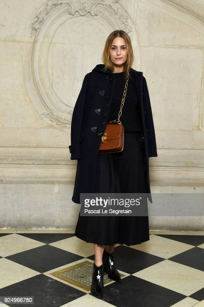 Yasmin Le Bon attends the Christian Dior show as part of the Paris Fashion Week Womenswear Fall/Winter 2018/2019 on February 27 2018 in Paris France