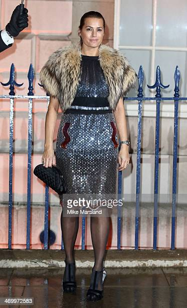 Yasmin Le Bon attends the Creative London party hosted by the British Fashion Council British Academy of Film and Television Arts and The British...