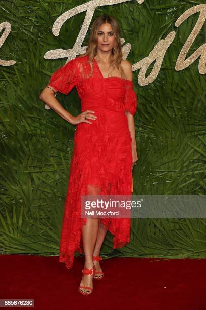 Yasmin Le Bon attends The Fashion Awards 2017 in partnership with Swarovski at Royal Albert Hall on December 4 2017 in London England