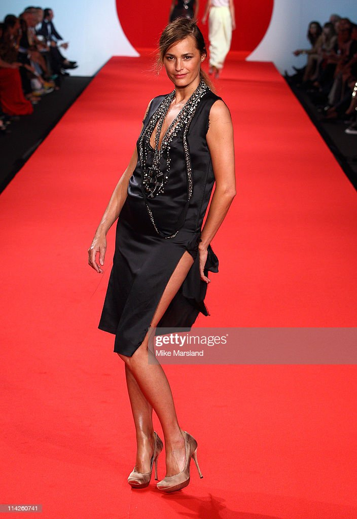 Yasmin Le Bon attends the ' Fashion For Relief Japan Fundraiser' during the 64th Annual Cannes Film at Forville Market on May 16, 2011 in Cannes, France.