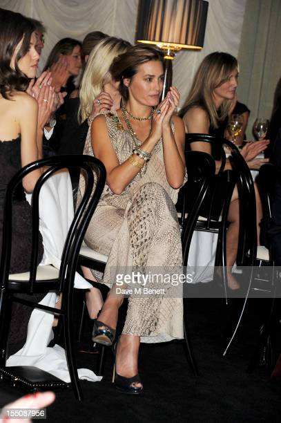 Yasmin Le Bon attends the Harper's Bazaar Women of the Year Awards 2012 in association with Estee Lauder Harrods and Tiffany Co at Claridge's Hotel...