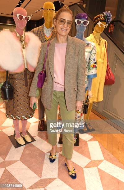 Yasmin Le Bon attends The Lady Garden Foundation Gucci Breakfast on February 5 2020 in London United Kingdom