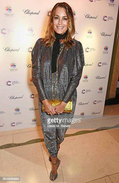 Yasmin Le Bon attends The Lady Garden Gala hosted by Chopard in aid of Silent No More Gynaecological Cancer Fund and Cancer Research UK at Claridge's...