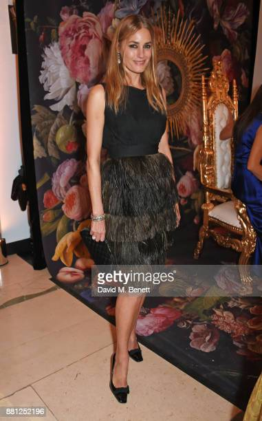 Yasmin Le Bon attends the Lady Garden Gala in aid of Silent No More Gynaecological Cancer Fund and Cancer Research UK at Claridge's Hotel on November...