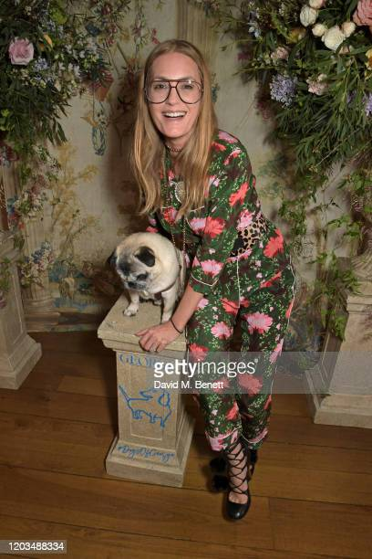 Yasmin Le Bon attends the launch of the George Charitable Dogs Committee at George Club on February 26 2020 in London England