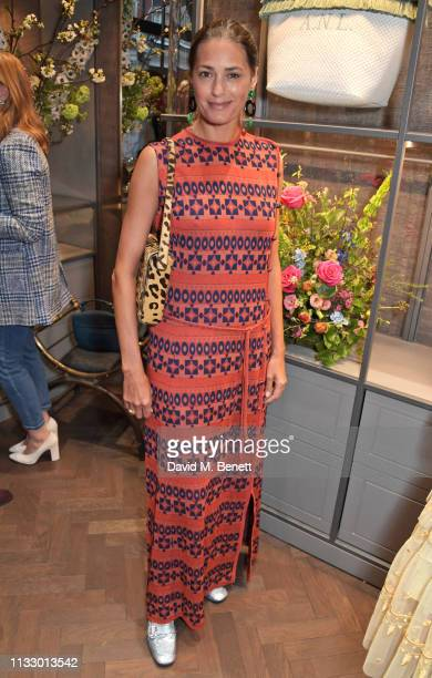 Yasmin Le Bon attends the launch of the second collaboration between Misela Alice NaylorLeyland in time for the Misela flagship store opening on...