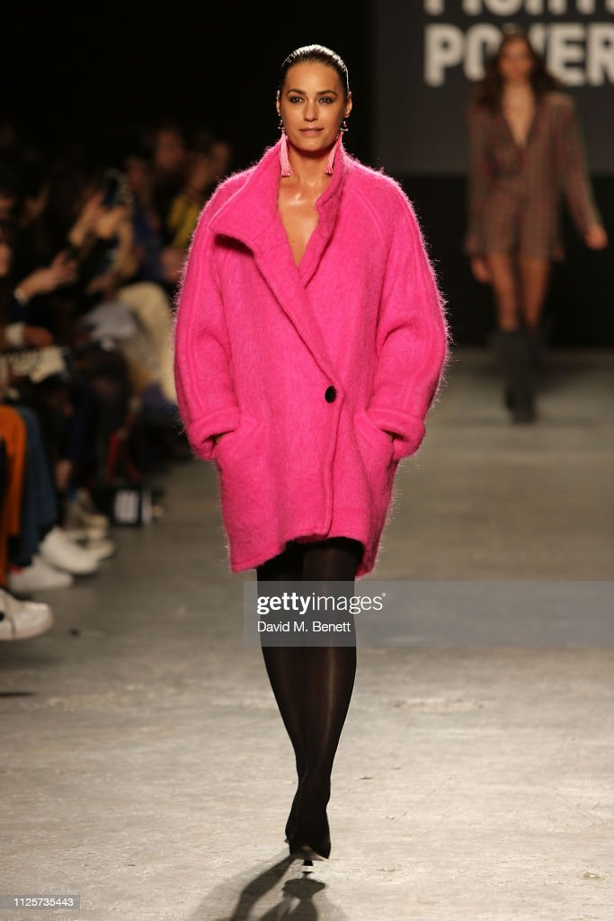 GBR: Oxfam Fashion Fighting Poverty Catwalk Show - LFW February 2019