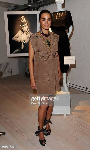 Yasmin Le Bon attends the party to celebrate Browns' 40th Anniversary at The Regent Penthouses and Lofts on May 12 2010 in London England