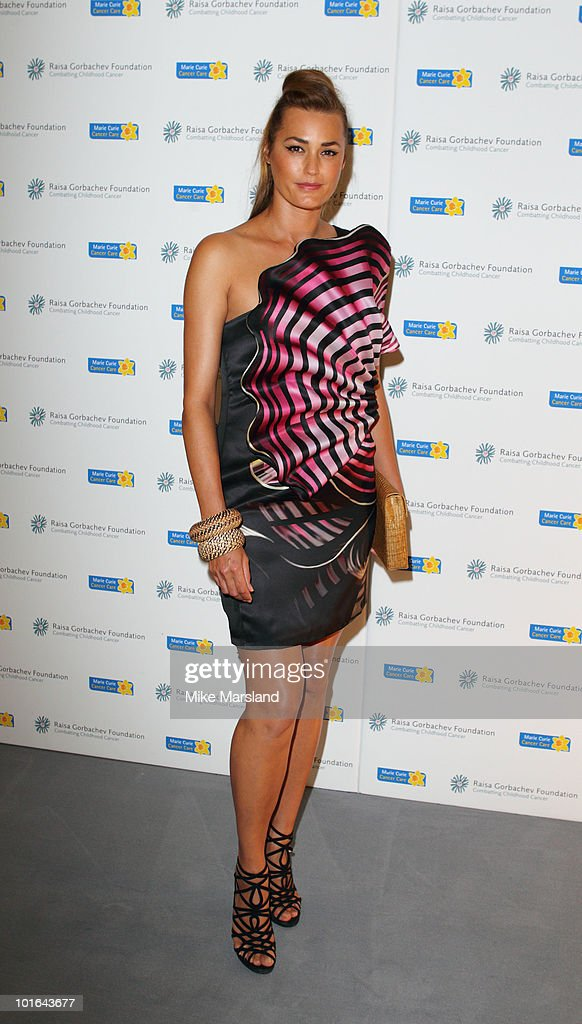 Yasmin Le Bon attends the Raisa Gorbachev Foundation Party at Hampton Court on on June 5, 2010 in London, England.