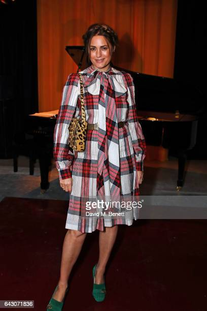 Yasmin Le Bon attends the Roksanda show during the London Fashion Week February 2017 collections on February 20 2017 in London England