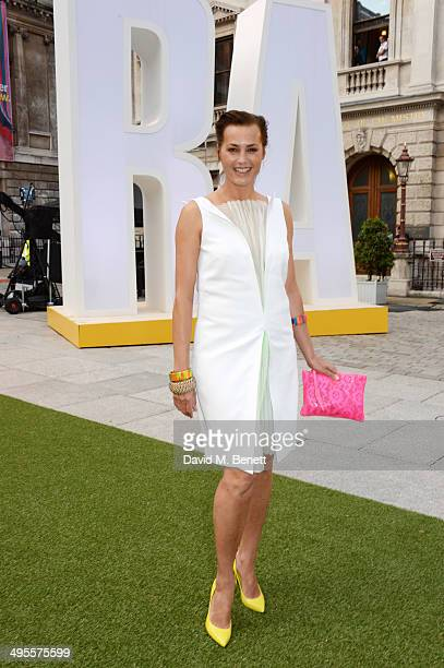 Yasmin Le Bon attends the Royal Academy Summer Exhibition preview party at the Royal Academy of Arts on June 4 2014 in London England