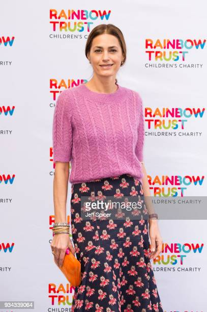 Yasmin Le Bon attends the 'Trust In Fashion' London event at The Savoy Hotel on March 19 2018 in London England