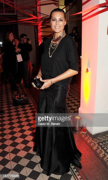 Yasmin Le Bon attends the Tunnel of Love fundraiser in aid of the British Heart Foundation at One Mayfair on November 12 2013 in London England