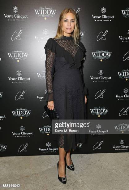 Yasmin Le Bon attends The Veuve Clicquot Widow Series By Carine Roitfeld And CR Studio on October 19 2017 in London England