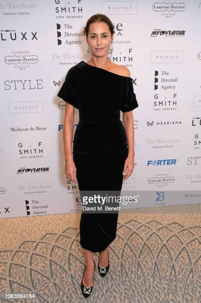 Yasmin Le Bon attends the Walpole British Luxury Awards 2018 at The Dorchester on November 19 2018 in London England