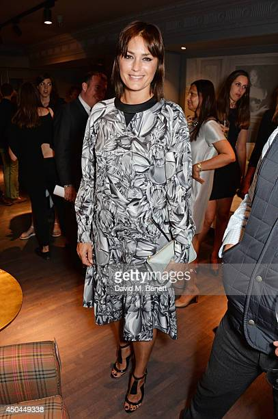 Yasmin Le Bon attends the worldwide exclusive launch of YOO Home at Harrods on June 11 2014 in London England