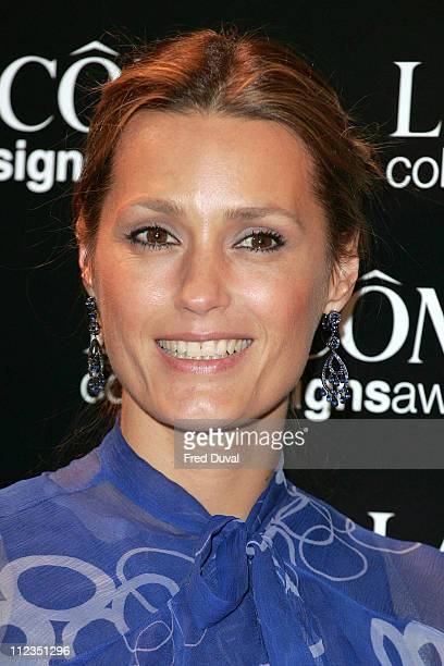 Yasmin Le Bon during 2005 Lancome Colour Design Awards at Freemanson's Hall 60 Great Queen Street in London Great Britain