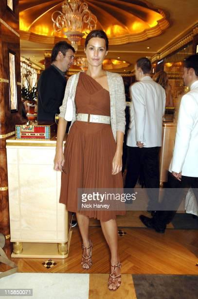 Yasmin Le Bon during Gail Elliott Presents Little Joe with Tea at The Ritz at The Ritz in London Great Britain
