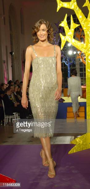 Yasmin Le Bon during Horticulture Fashion Show at The Orangery in Kew United States