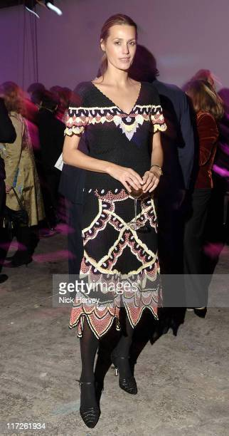Yasmin Le Bon during The Hypochondriac Christmas Gala Performance at Almeida Theatre in London Great Britain