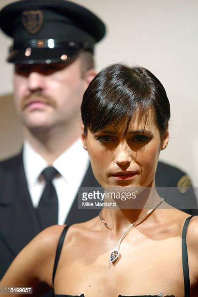 Yasmin Le Bon during The Most Expensive Diamond Ever Sold At Harrods The Blue Empress Goes On Sale at Harrods Department Store Kniightsbridge in...