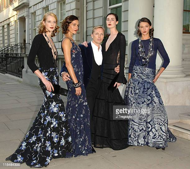 Yasmin Le Bon Graeme Black and Erin O'Connor