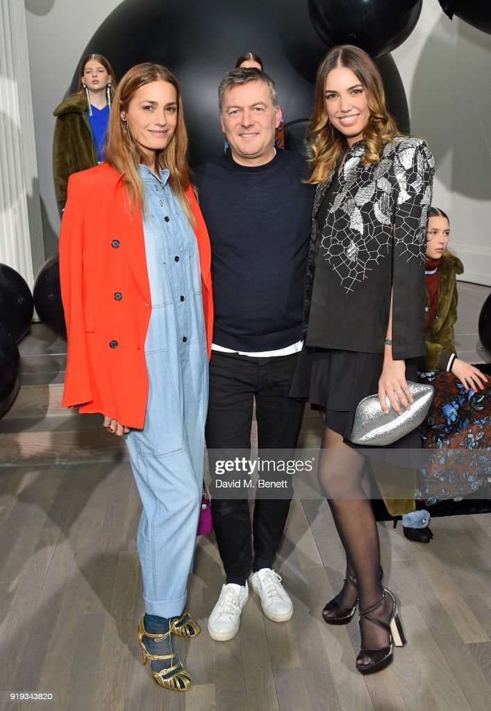 Markus Lupfer - Front Row - LFW February 2018