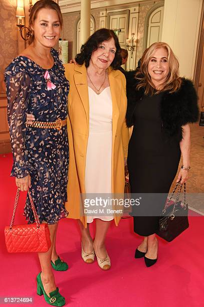 Yasmin Le Bon motherinlaw AnnMarie Le Bon and Brix Smith Start attend the Future Dreams 'United For Her' Ladies Lunch 2016 at The Savoy Hotel on...