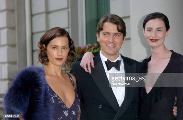 Yasmin Le Bon Salvatore Ferragamo and Erin O'Connor